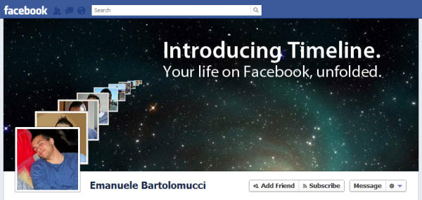 emanuele bartolomucci1 30 Creative Examples of Facebook Timeline Cover Designs #2