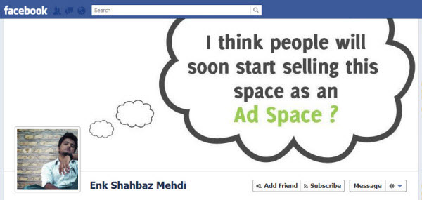 enk shahbaz mehdi1 30 Creative Examples of Facebook Timeline Cover Designs #2