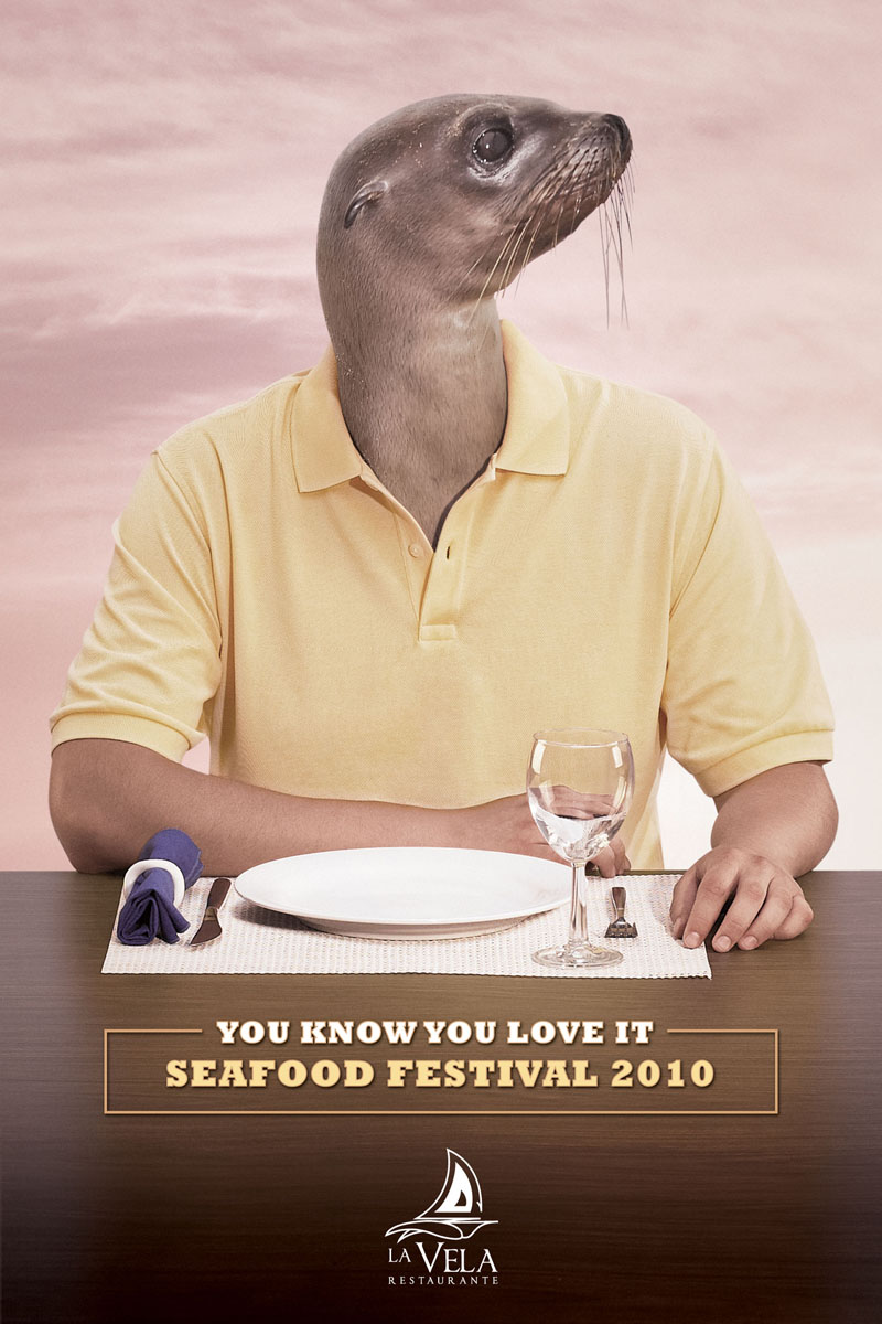 food 11 The Perky Side of Food Advertising: 20 Creative and Eye Catching Restaurant Ads