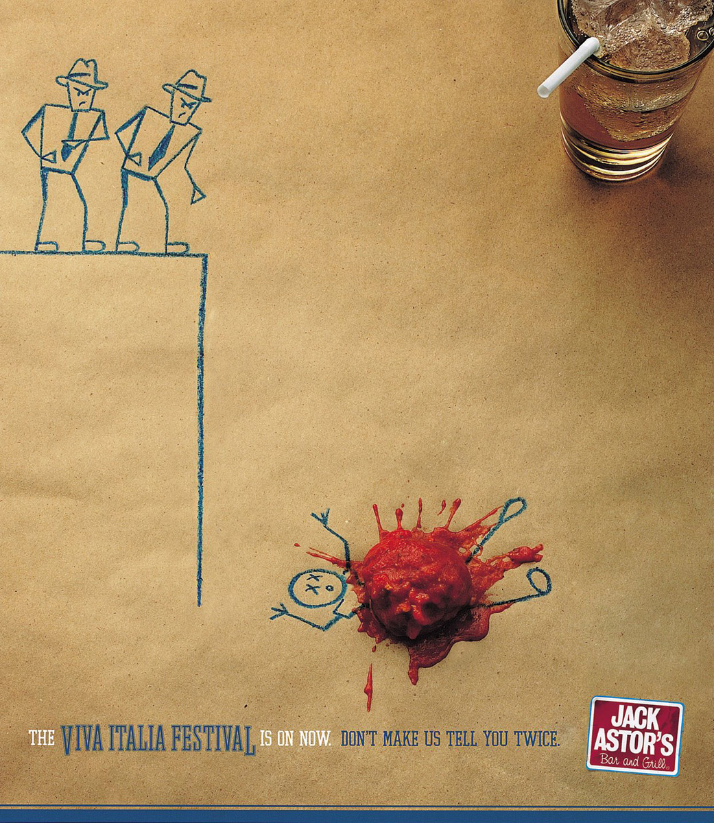 The Perky Side of Food Advertising: 20 Creative and Eye ...