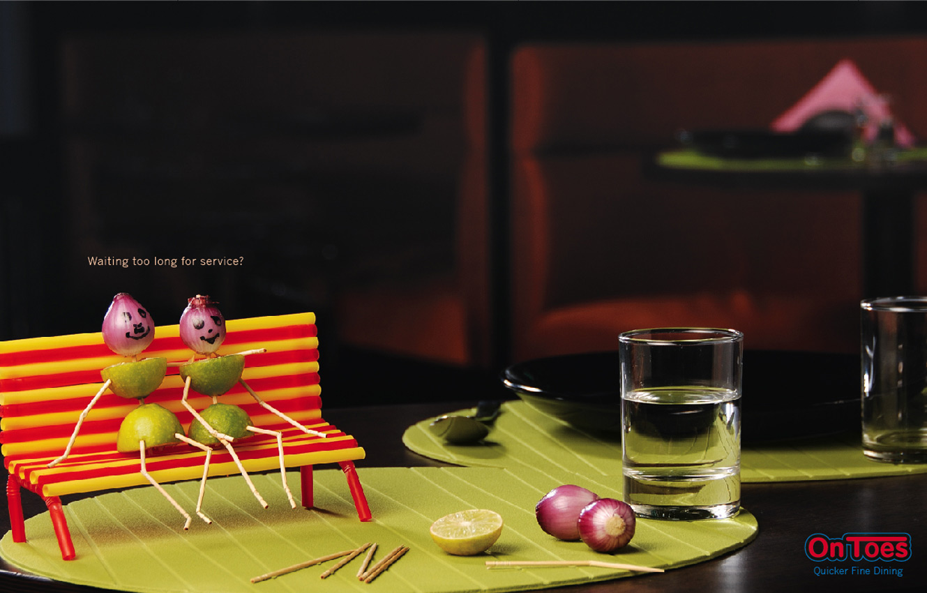 food 20 The Perky Side of Food Advertising: 20 Creative and Eye Catching Restaurant Ads