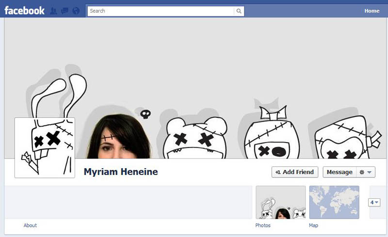 funny creative facebook timeline cover 101 30 Creative Examples of Facebook Timeline Cover Designs #2