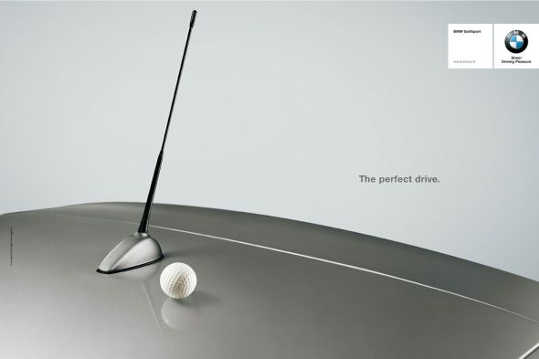 golfsportbmw preview1 50 Creative & Effective Advertising Examples
