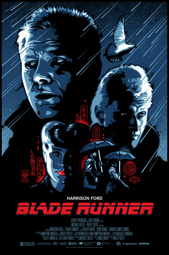 i bladerunner1 30 Phenomenal Illustrations By James White