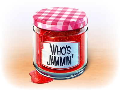 jam jar small1 50 Most Incredible Examples of Icon Design #2