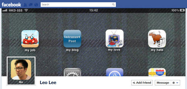 leo lee1 30 Creative Examples of Facebook Timeline Cover Designs #2