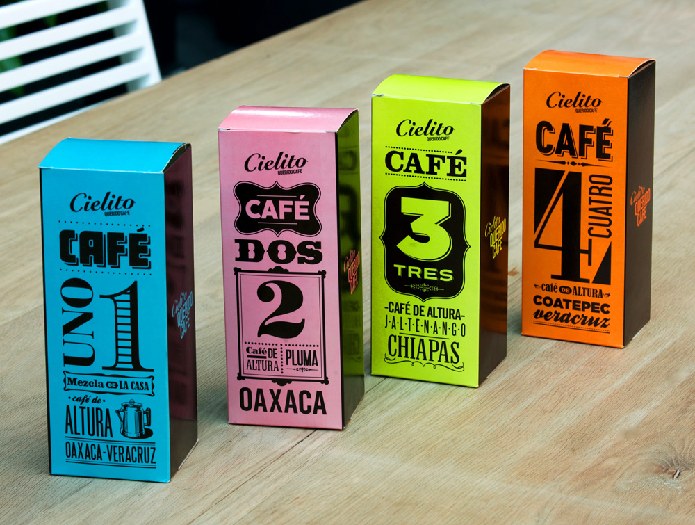 lovely package cielito11 30 Stimulating & Creative Coffee Packaging Designs