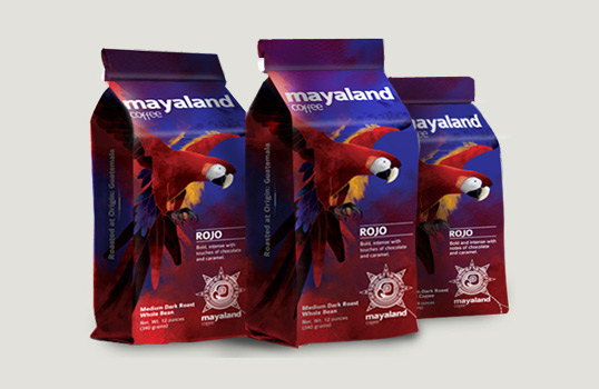lovely package mayaland11 30 Stimulating & Creative Coffee Packaging Designs