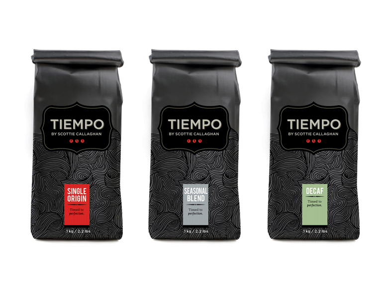 lovely package tiempo11 30 Stimulating & Creative Coffee Packaging Designs