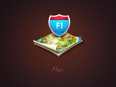 map icon1 50 Most Incredible Examples of Icon Design #2