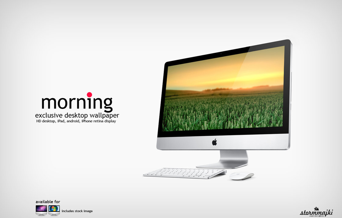 morning wallpaper by stormmajki d4mxitu1 20 Effectual HD Desktop Wallpapers from deviantART