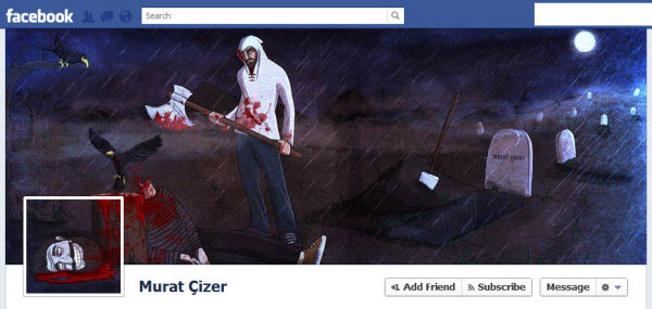 murat cizer1 30 Creative Examples of Facebook Timeline Cover Designs #2