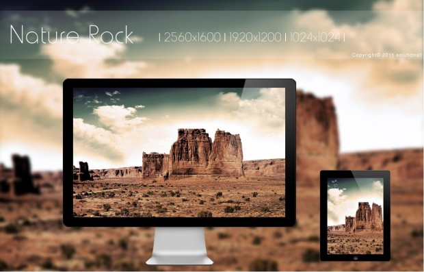 nature rock by solutionall hd wallpaper 620x3971 20 Effectual HD Desktop Wallpapers from deviantART