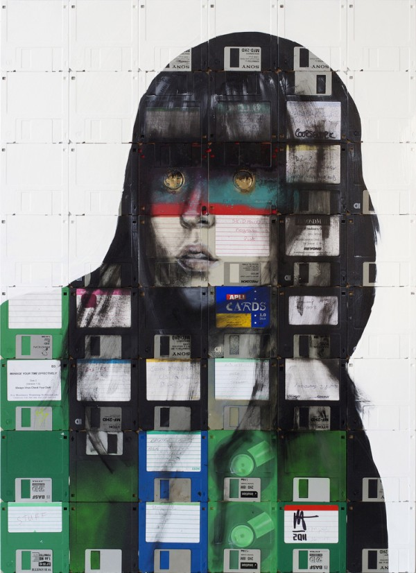 nick 3 600x8261 Floppy Disk Portraits by Nick Gentry