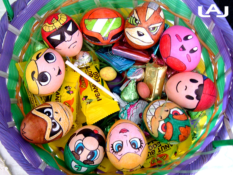 nintendo eggs by red flare1 30 Creative Examples of Easter Egg Designs