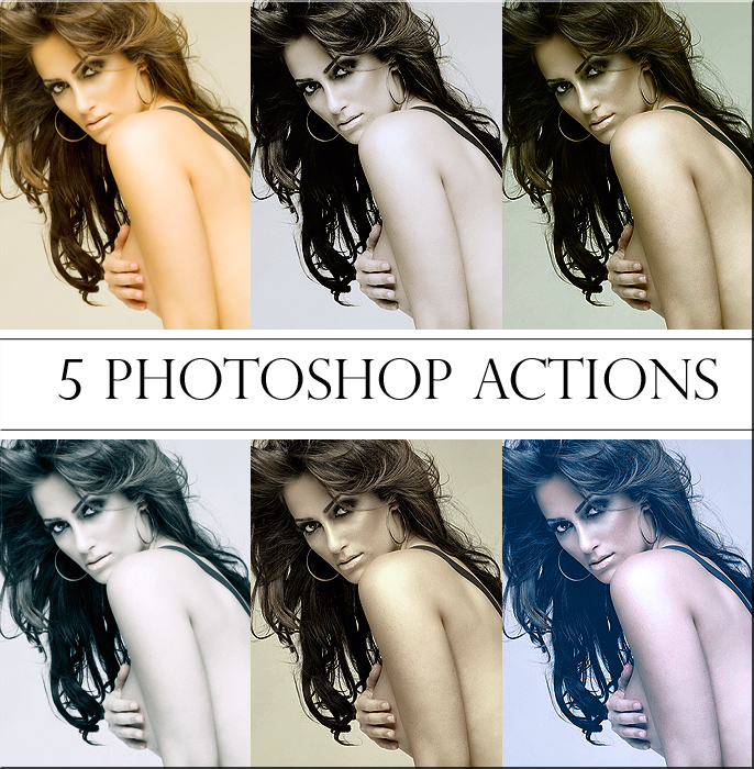 photoshop actions pack by reehbr1 20+ Great Free & Premium Photoshop Actions Packs