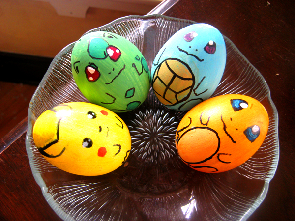 pokemon easter eggs by lanini1 30 Creative Examples of Easter Egg Designs