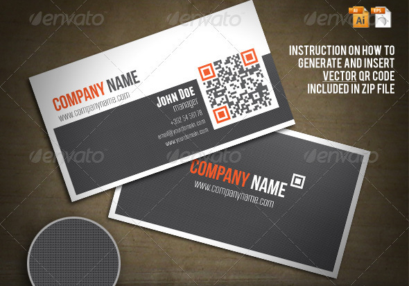 qr business card 25 Impressive Examples of QR Code Business Cards