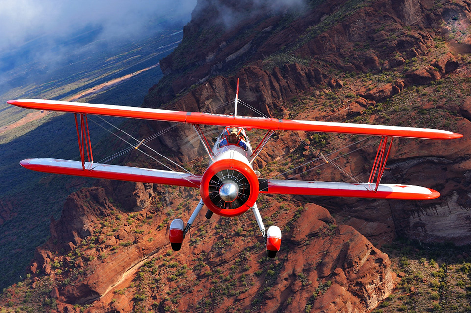red baron boeing above arizona1 25 Outstanding Examples of Machine Photography