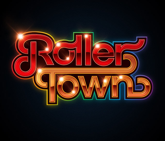 rollertown logo1 30 Phenomenal Illustrations By James White