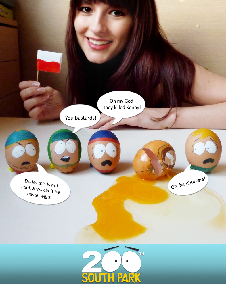 south park easter eggs by kosherlatkes d34jxwc1 30 Creative Examples of Easter Egg Designs