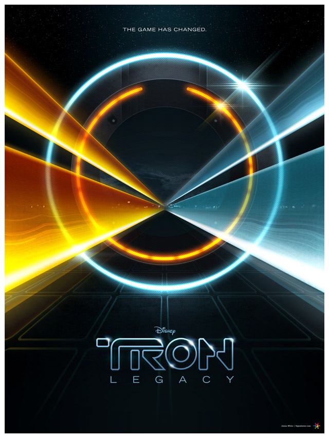 tron11 30 Phenomenal Illustrations By James White
