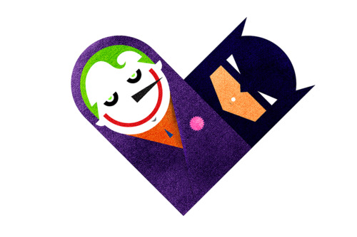 tumblr lzdconohjl1rpywm4o1 5001 Love and Hate Versus Hearts by Dan Matutina