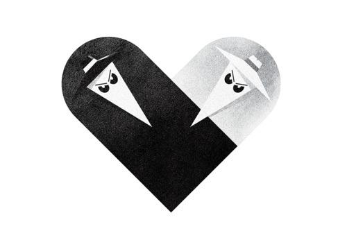tumblr lziqp5e1zh1rpywm4o1 5001 Love and Hate Versus Hearts by Dan Matutina