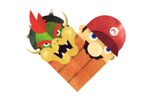 tumblr m1oz8yh84m1rpywm4o1 5001 Love and Hate Versus Hearts by Dan Matutina