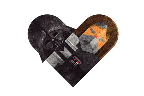 tumblr m2djuxpcnh1rpywm4o1 5001 Love and Hate Versus Hearts by Dan Matutina