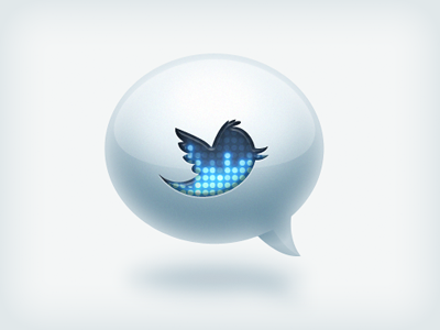 twitter icon1 50 Most Incredible Examples of Icon Design #2