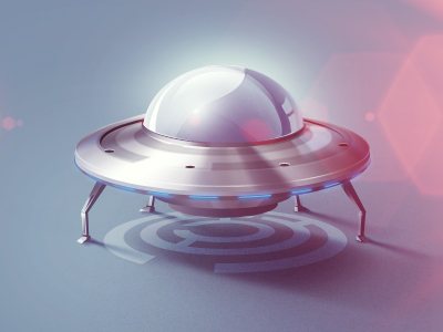 ufo1 50 Most Incredible Examples of Icon Design #2