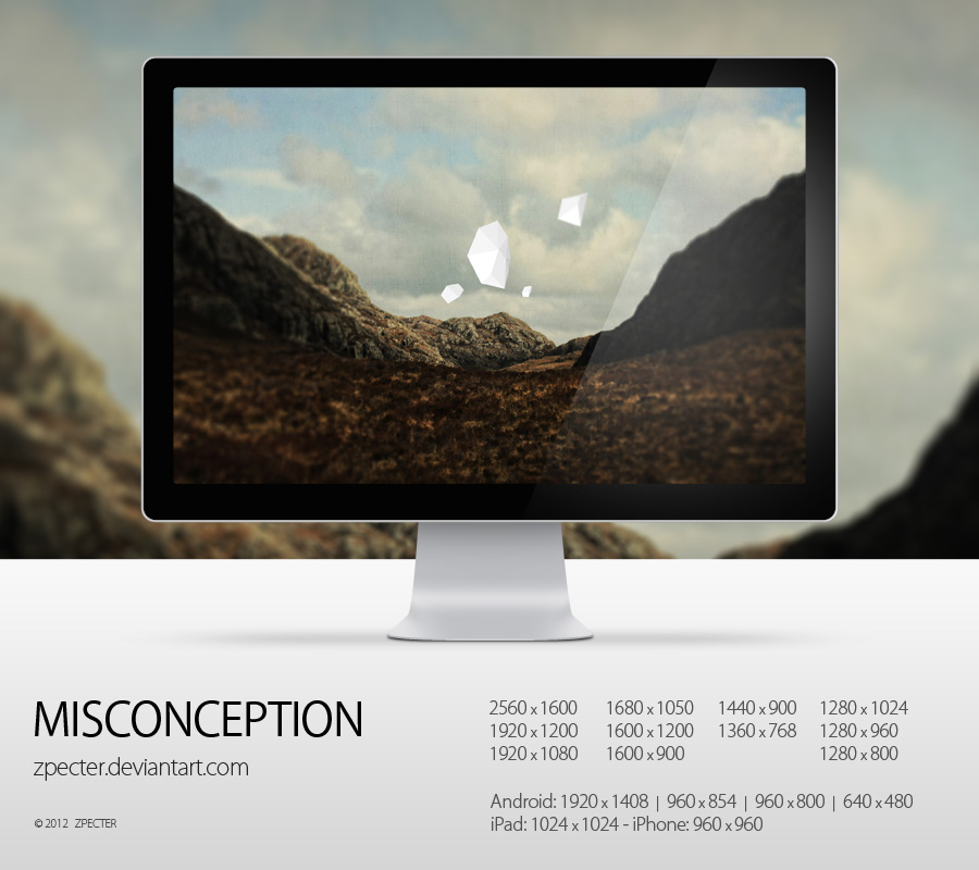 wallpaper 71 misconception by zpecter d4n4etp1 20 Effectual HD Desktop Wallpapers from deviantART