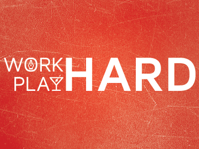 work hard play hard1 40 Remarkable Examples Of Typography Design #8