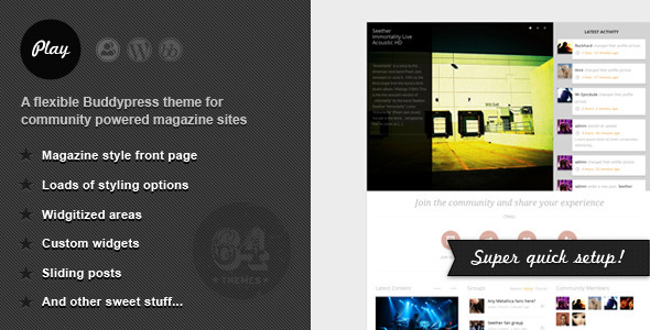 10+ Amazing Premium Buddypress Wordpress Themes | Inspirationfeed