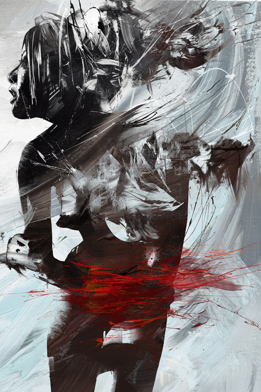 043be8bf098bccd29f1fd86432ef168a 20 Excellent Abstract Illustrations by Russ Mills