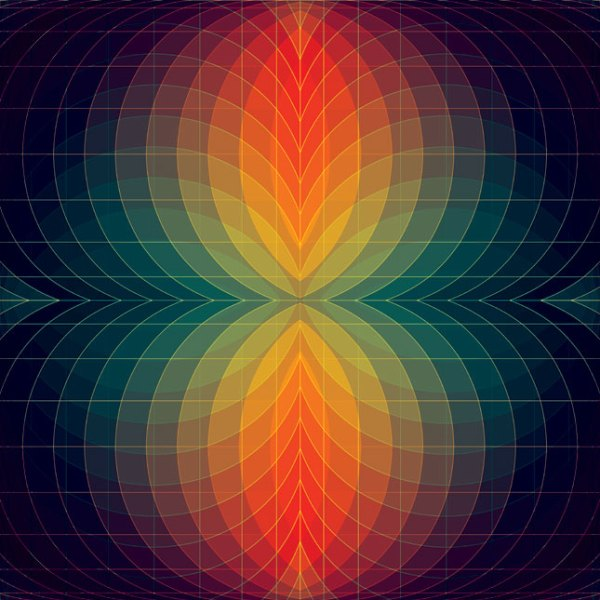 05 18 09 b Kaleidoscopic and Hypnotic Geometric Compositions by Andy Gilmore