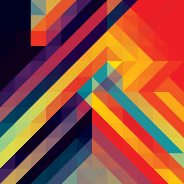 06 11d 09 Kaleidoscopic and Hypnotic Geometric Compositions by Andy Gilmore
