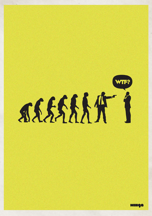 0b1a2a7831ec1cd3d181245aaf67eeb4 Cleverly Hilarious WTF Posters By Estudio Minga