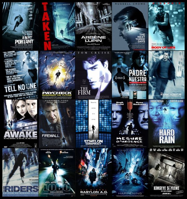Blue colors and street images - Mysterious stories (thrillers)
