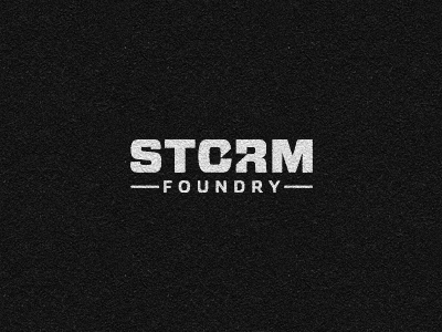 138562 storm foundry logo 30 Memorable Logo Identities by Gert Van Duinen