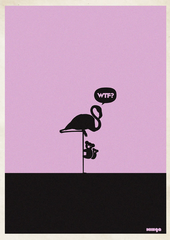 1782ef255d39dcb3a66365eea29332b6 Cleverly Hilarious WTF Posters By Estudio Minga