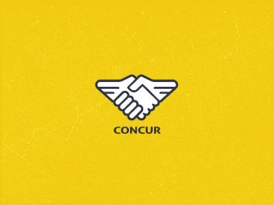 189205 concur logo 30 Memorable Logo Identities by Gert Van Duinen