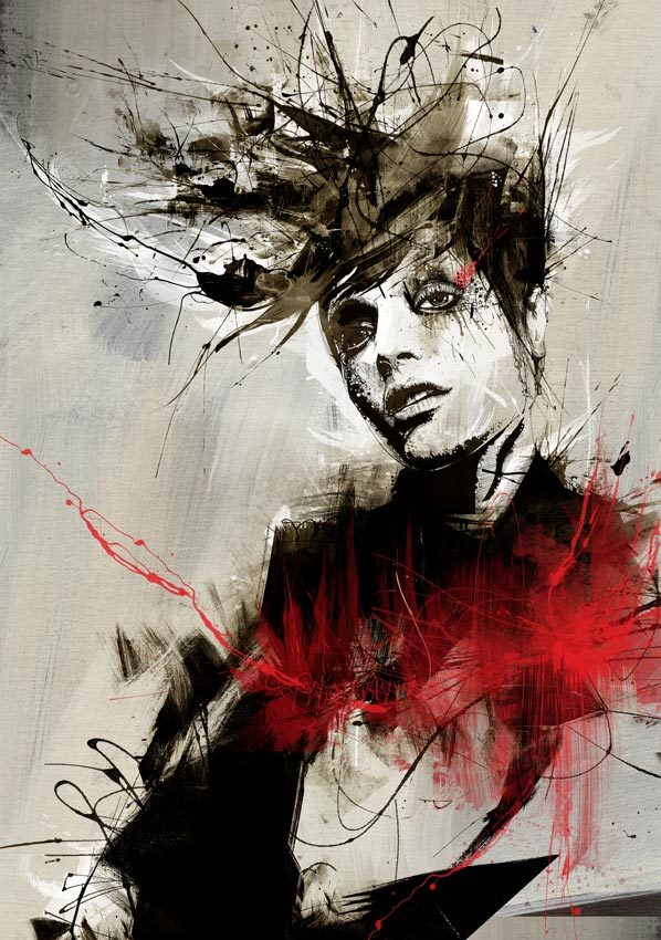 222d9560429bf37caf4f9b87aad9b939 20 Excellent Abstract Illustrations by Russ Mills