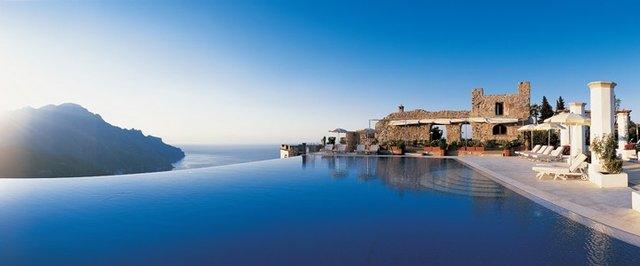 Infinity pool - Amalfi Coast, Italy
