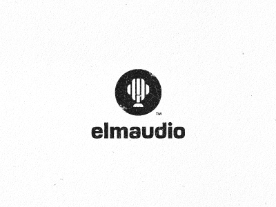 343010 elmaudio logo design 30 Memorable Logo Identities by Gert Van Duinen