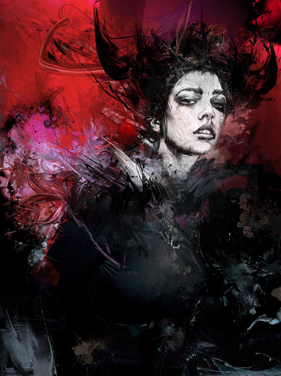 3f795b4dd124e417561ebcaf9b820759 20 Excellent Abstract Illustrations by Russ Mills