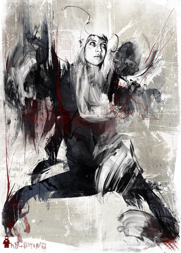 405eeec331c62832fcdf55baf500c396 20 Excellent Abstract Illustrations by Russ Mills