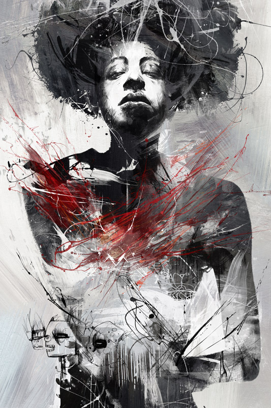 56d6dfee3683082bf3810174bf8e7dcc 20 Excellent Abstract Illustrations by Russ Mills