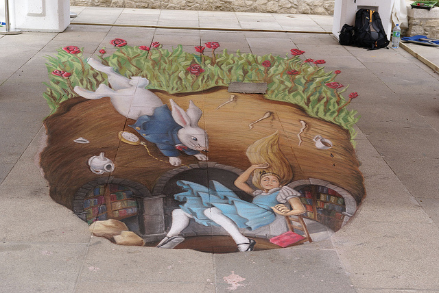 6072543258 787d5f55e3 z1 What Chalk and Artistry Can Do – 20 Magnificent and Enthralling Samples of Chalk Art